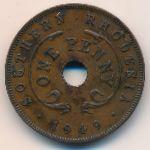 Южная Родезия, 1 пенни (1949 г.)