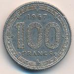 Экваториальные Африканские Штаты, 100 франков (1967 г.)