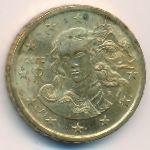 Италия, 10 евроцентов (2002 г.)