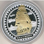 Pitcairn Islands, 2 dollars, 2008