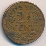 Кюрасао, 2 1/2 цента (1944 г.)