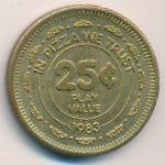 Жетоны, 25 центов (1983 г.)