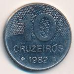 Бразилия, 10 крузейро (1981–1984 г.)