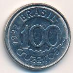 Бразилия, 100 крузейро (1992 г.)