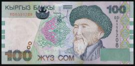 Кыргызстан, 100 сом (2002 г.)