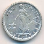 Филиппины, 10 сентаво (1917 г.)