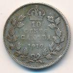 Канада, 10 центов (1919 г.)