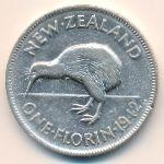 Новая Зеландия, 1 флорин (1940–1943 г.)
