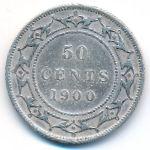 Ньюфаундленд, 50 центов (1900 г.)