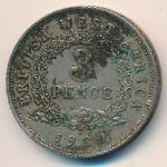 Британская Западная Африка, 3 пенса (1939 г.)