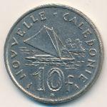 Новая Каледония, 10 франков (1972 г.)