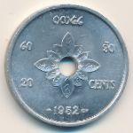 Лаос, 20 центов (1952 г.)