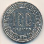 Конго, 100 франков (1971–1972 г.)