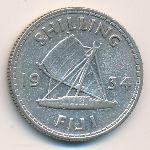 Фиджи, 1 шиллинг (1934–1936 г.)