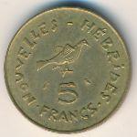 Новые Гебриды, 5 франков (1970 г.)