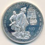 Острова Кука, 10 долларов (1994 г.)