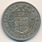 Новая Зеландия, 1/2 кроны (1947 г.)