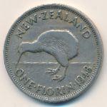 Новая Зеландия, 1 флорин (1948–1950 г.)