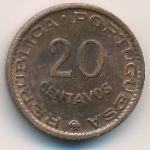 Ангола, 20 сентаво (1962 г.)