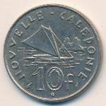 Новая Каледония, 10 франков (1977 г.)
