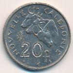 Новая Каледония, 20 франков (1967–1970 г.)