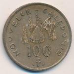 Новая Каледония, 100 франков (1976–1987 г.)