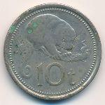 Папуа - Новая Гвинея, 10 тоа (1975–1976 г.)