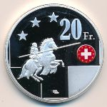 Бюзинген-ам-Хохрайн, 20 франков (2018 г.)