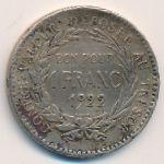 Мартиника, 1 франк (1922 г.)