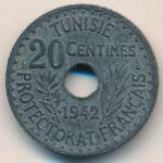 Тунис, 20 сентим (1942 г.)