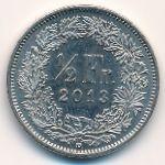 Швейцария, 1/2 франка (2013 г.)