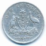 Австралия, 1 шиллинг (1917 г.)