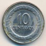 Колумбия, 10 сентаво (1968 г.)