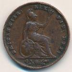 Великобритания, 1 фартинг (1836 г.)