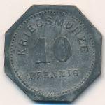 Бенсхайм., 10 пфеннигов (1917 г.)