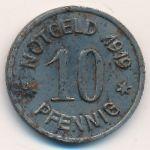 Бинген-на-Рейне., 10 пфеннигов (1919 г.)