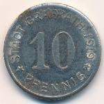 Графрат., 10 пфеннигов (1919 г.)
