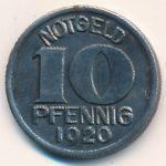 Халл., 10 пфеннигов (1920 г.)