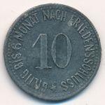 Хаммельбург., 10 пфеннигов (1917 г.)