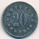 Шробенхаузен., 20 пфеннигов (1917 г.)