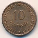 Португальская Индия, 10 сентаво (1961 г.)