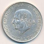 Мексика, 10 песо (1957 г.)