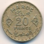 Марокко, 20 франков (1951 г.)