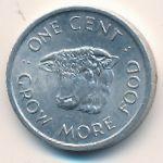 Сейшелы, 1 цент (1972 г.)