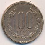 Чили, 100 песо (1999 г.)