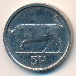 Ирландия, 5 пенсов (2000 г.)
