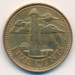 Барбадос, 5 центов (1988 г.)