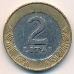 Литва, 2 лита (1999 г.)