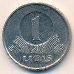 Литва, 1 лит (2002 г.)