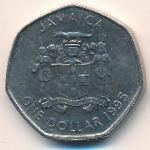 Ямайка, 1 доллар (1995–2005 г.)
